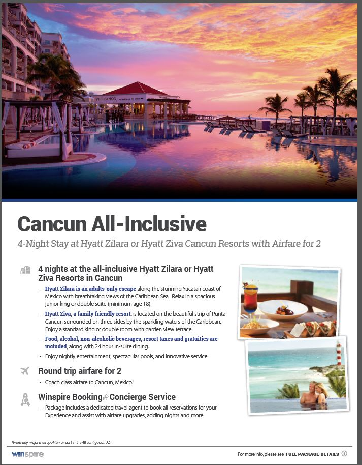 Cancun Mexico Trip Raffle | NAMI of DuPage County, IL